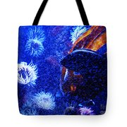 Underwater Swarm Tote Bag