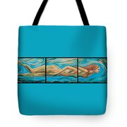 Underwater Swimmer Tote Bag