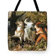 Undine And The Wood Demons Tote Bag