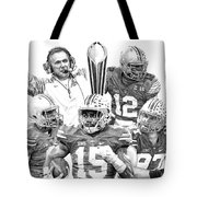 Undisputed Champions Tote Bag