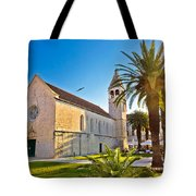 Unesco Town Of Trogir Church View Tote Bag