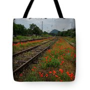 Unexpected Garden Tote Bag