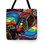 Unfold Tote Bag by Teal Eye  Print Store