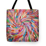Unfolding Melody Tote Bag