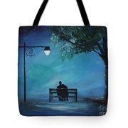 Unforgettable Evening Tote Bag