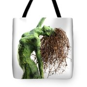 Unfurled Detail Tote Bag by Adam Long
