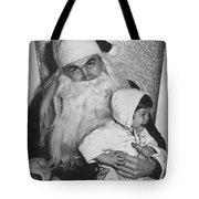 Unhappy Santa Claus Tote Bag