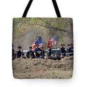 Union Artillery Embankment Tote Bag