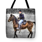 Union Horse Officer Tote Bag