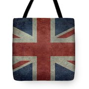 Union Jack 1 By 2 Version Tote Bag