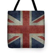 Union Jack 3 By 5 Version Tote Bag