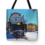 Union Pacific Challenger Tote Bag