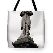 Union Soldier In Market Square Tote Bag