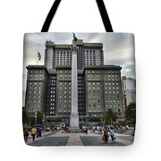 Union Square Courtyard Tote Bag