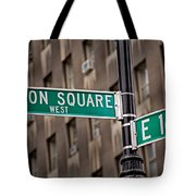 Union Square West I Tote Bag