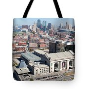Union Station And Downtown Kansas City Tote Bag