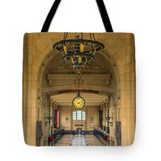 Union Station Chandelier Tote Bag