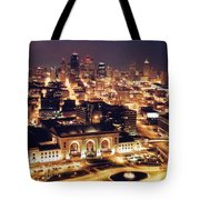 Union Station Night Tote Bag