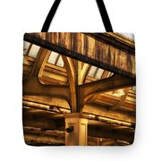 Union Station Roof Structure Tote Bag
