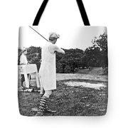 Union Suit Golfer Tote Bag