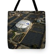 United Center Chicago Sports 10 Tote Bag by Thomas Woolworth