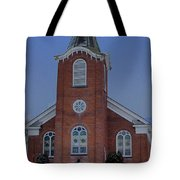 United Methodist Church Lowville Ny Tote Bag