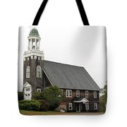 United Methodist Church New Harbor Maine Tote Bag