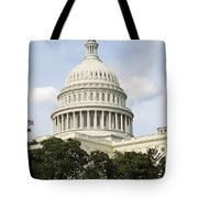 United State Capitol Dome Washington Dc Tote Bag