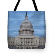 United States Capitol Building Tote Bag by Kim Hojnacki