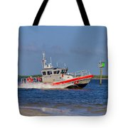 United States Coast Guard Tote Bag by Kim Hojnacki