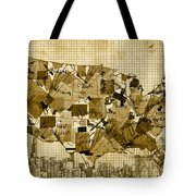 United States Map Collage 4 Tote Bag