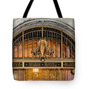 United States Realty Building Entrance Tote Bag