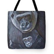 United - Western Lowland Gorillas Tote Bag