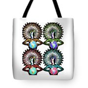 Unity-love-peace In This World Tote Bag
