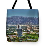 Universal City Warner Bros Studios Clear Day Tote Bag