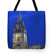 University Church Of St Mary The Virgin Tote Bag