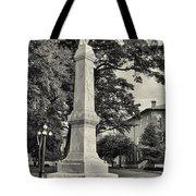 University Greys Black And White Tote Bag