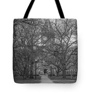 University Hall And Pathway Osu Tote Bag