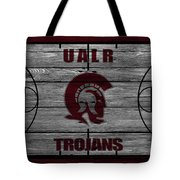 University Of Arkansas At Little Rock Trojans Tote Bag
