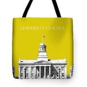 University Of Iowa - Mustard Yellow Tote Bag