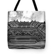 University Of Sydney-black And White Tote Bag