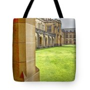 University Of Sydney Quadrangle V2 Tote Bag