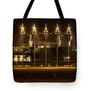 University Of Tampa At Night Tote Bag