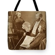 Unknown Artists Tote Bag
