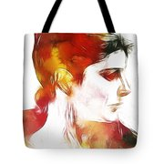 Unknown Lady Tote Bag