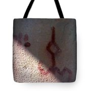 Unknown Symbol Cave Painting Tote Bag