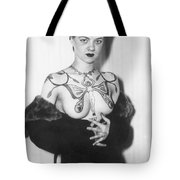 Tattoo Photograph Tote Bag