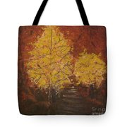 Unlikely Companions Tote Bag