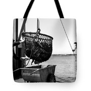 Unloading Fish From Monterey's Wharf Two Circa 1950  Tote Bag