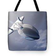 Unmanned Spaceship Tote Bag